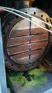 HVAC chiller barrel